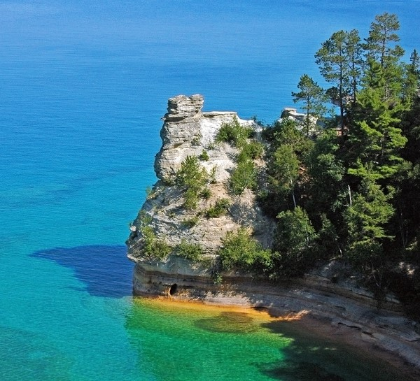 Rocks National Lakeshore