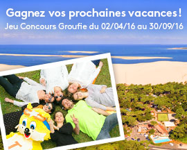 jeu concours groufie tohapi camping