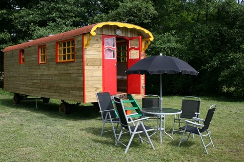 glamping en roulotte