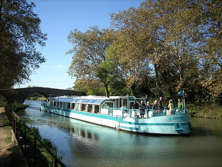 Excursion péniche Vias