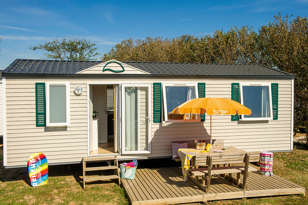 Mobil-home Relax climatisé 6 personnes 3 chambres