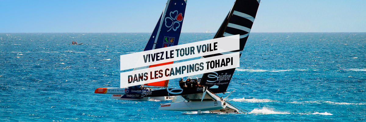Campings Tour Voile 2018