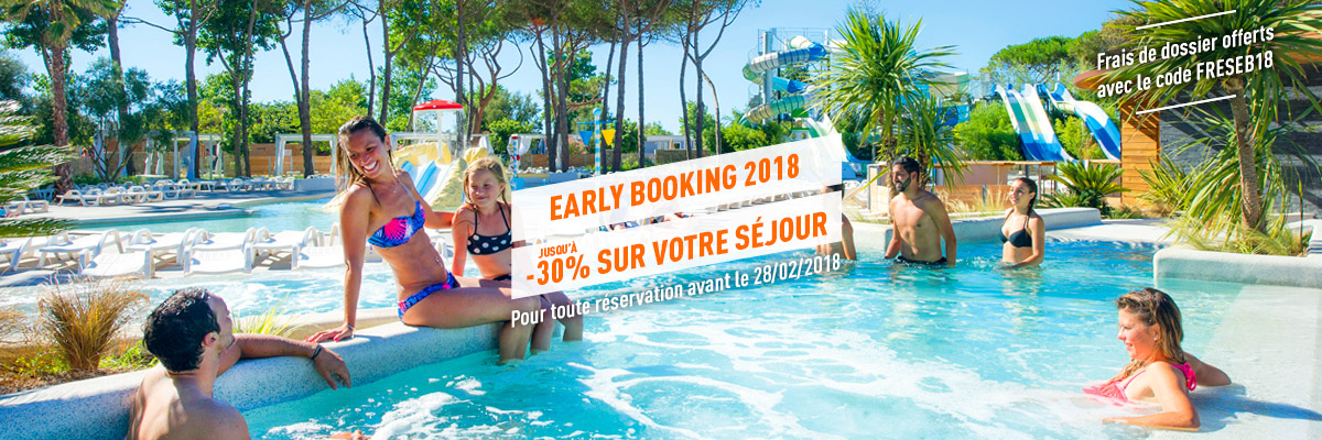 Prolongation Early Booking 2018 - Septembre